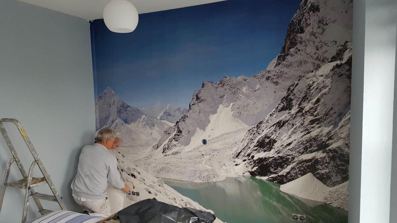 Behangwerk schildersbedrijf j schipper uit alkmaar for Glasvlies behang plakken
